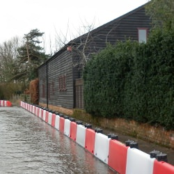 Picture Of Young entrepreneur`s unique flood defence system goes global