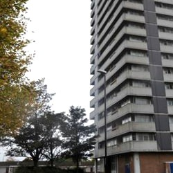 Picture Of For sale: 17-storey tower block in Coventry still on the market for and £4million